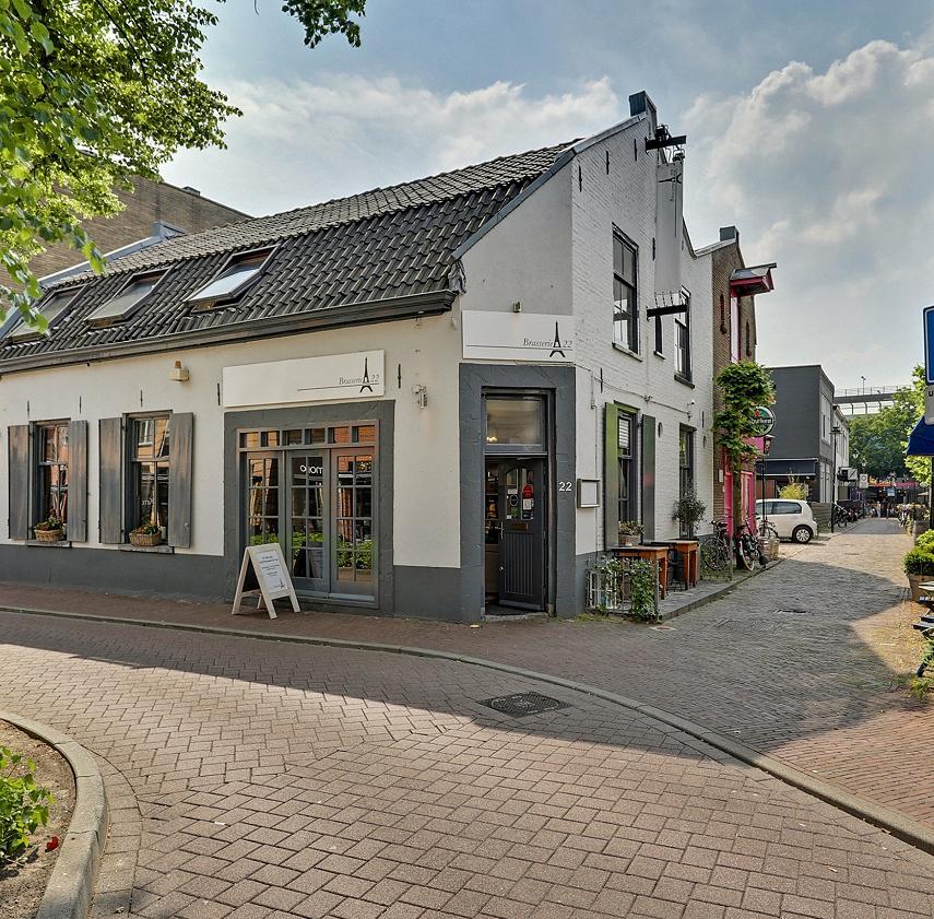 Restaurant hoeklokatie Hilversum