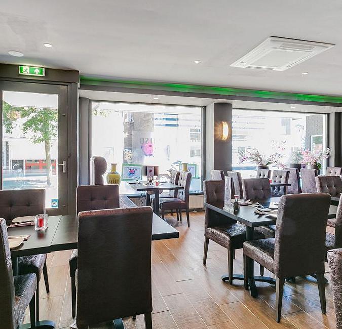 Restaurant in centrum Hilversum