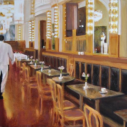 Eetcafé aan plein in Het Gooi