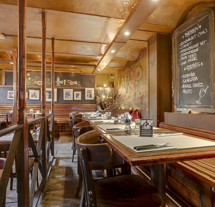 Eetcafé aan de gracht Amsterdam centrum