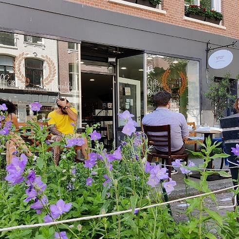 Koffiezaak in de Pijp Amsterdam