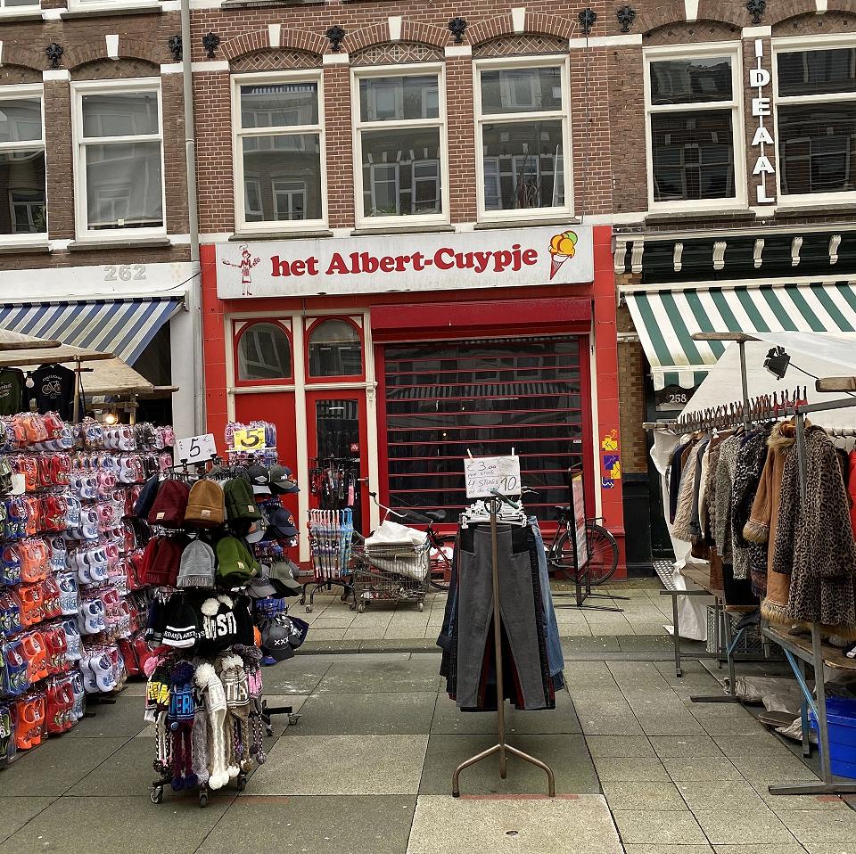 Winkelruimte te huur Amsterdam