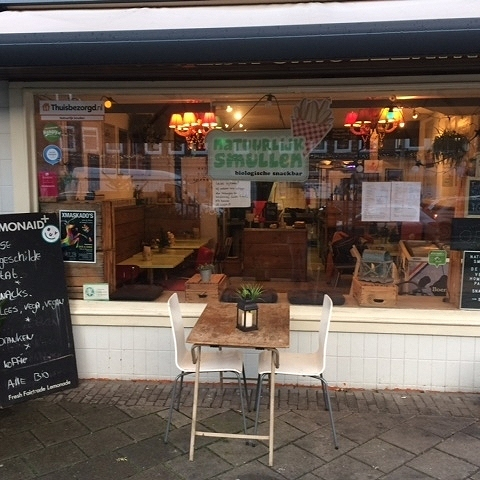Natuurlijk Smullen; de biologische snackbar in Amsterdam West